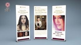 虞美人国际集团海报设计