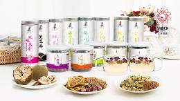 时珍堂代茶饮系列包装设计
